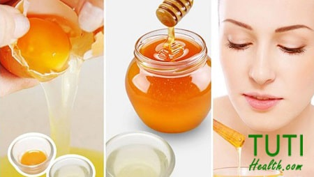 Công thức trị mụn bằng trứng gà và mật ong