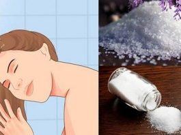 Gội đầu bằng nước muối có tác dụng gì
