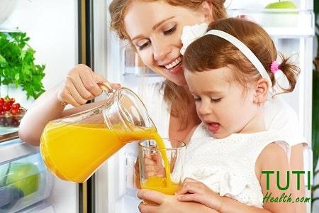 Uống nhiều nước ép từ cam có tốt không