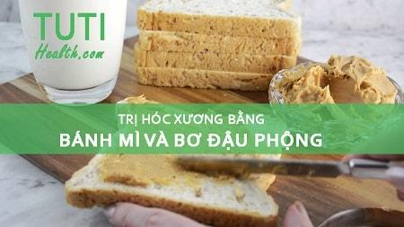 Bánh mì và bơ đậu phộng