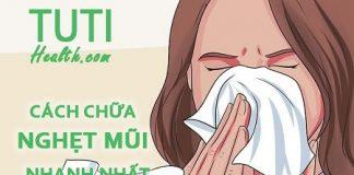 Cách chữa nghẹt mũi ngay lập tức tại nhà