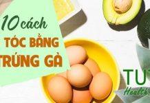 10 cách ủ tóc bằng trứng gà hiệu quả bất ngờ