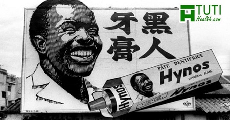 Anh Bảy Chà Và cười tươi rói quảng cáo kem đánh răng