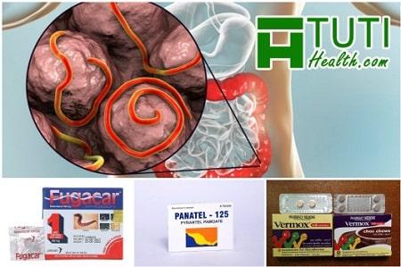 Tìm hiểu về thuốc tẩy giun và giun sán