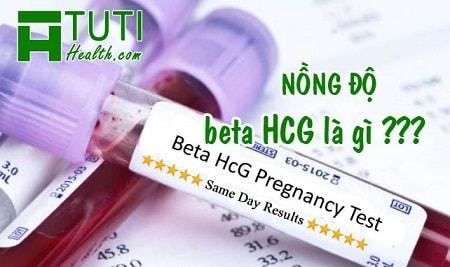 Chỉ số beta HCG là gì
