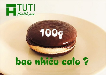 100g bánh Chocopie bao nhiêu calo