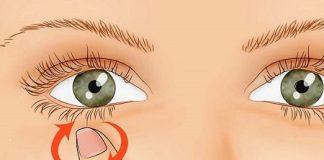 Nháy mắt trái nữ theo giờ