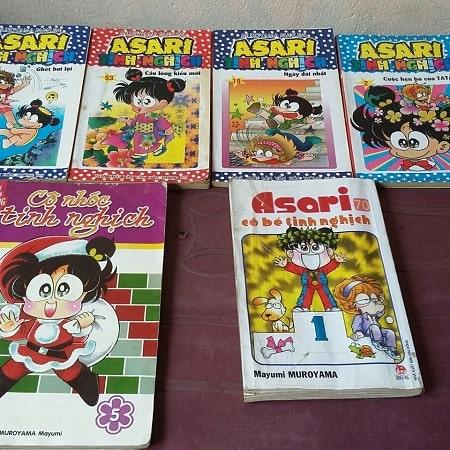 Asari cô bé tinh nghịch - Bộ truyện tranh gắn liền với tuổi thơ nhiều bạn trẻ