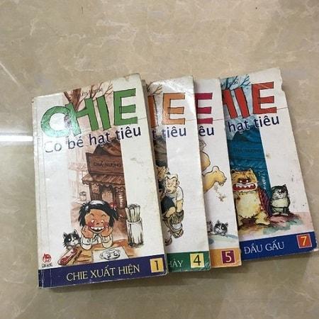 Chie – cô bé hạt tiêu, Bộ truyện tranh nổi tiếng ngày xưa
