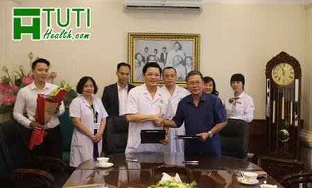Bệnh viện Hỗ trợ Sinh sản và Nam học Đức Phúc ký kết hợp tác với Bệnh viện Phụ Sản Hà Nội