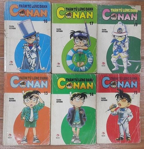 Thám tử lừng danh Conan - Truyện tranh 9x đời đầu say đắm