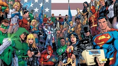 Justice League - Phim hoạt hình cũ của 8x - đầu 9x