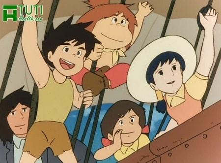 Conan - Cậu bé tương lai - Bộ phim hoạt hình của tuổi thơ nhiều 8x 9x