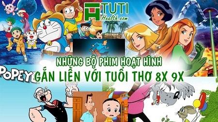 Tổng hợp những bộ phim hoạt hình gắn liền với tuổi thơ 8x 9x đời đầu