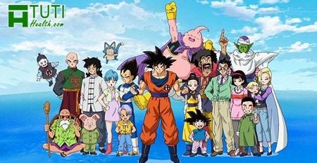 Những nhân vật trong phim hoạt hình 7 viên ngọc rồng gắn liền với tuổi thơ nhiều 8x 9x