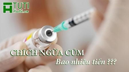 Chích ngừa cúm bao nhiêu tiền