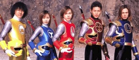 Dàn diễn viên siêu nhân Cuồng Phong Nhật Bản