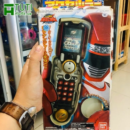 Điện thoại siêu nhân biến hình