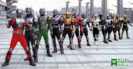 Siêu nhân Dế (Kamen Rider) - Dòng phim siêu nhân hay của Nhật Bản
