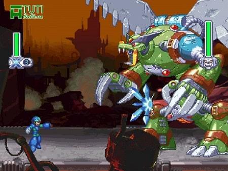 Mega Man X4 - Game kinh điển ngày xưa