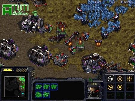 Starcraft - 1 trong những tựa game offline huyền thoại trên PC