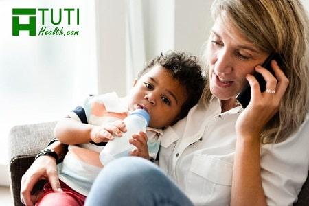 Những tác hại của điện thoại với trẻ sơ sinh và bà đẻ như thế nào ?