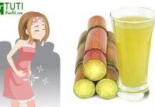 Uống nước mía khi có kinh nguyệt có tốt không ?