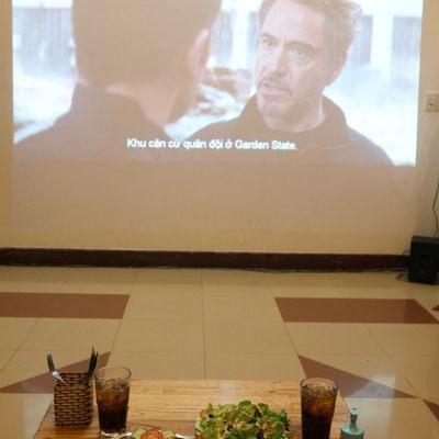 Cafe phim Mini Cinema Zone7