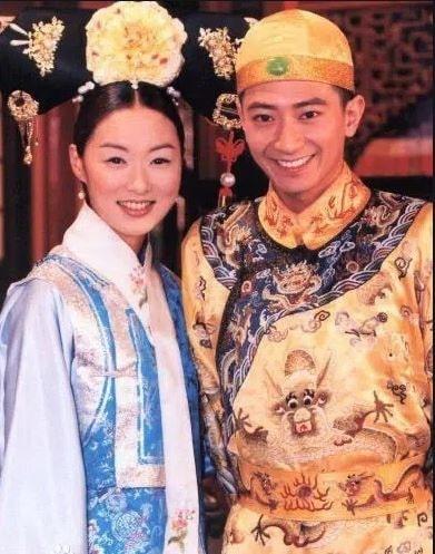 Tôn Diệu Uy và Trịnh Gia Du trong phim Công chúa Hoài Ngọc