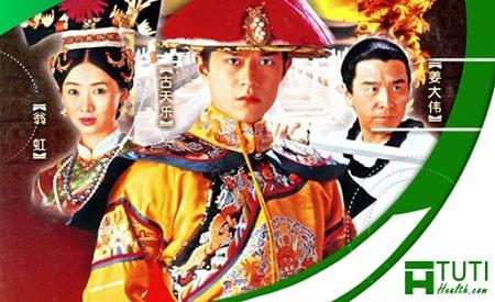 Trong phim Cổ Thiên Lạc đóng vai Hoàng Đế Càn Long với tình yêu sâu đậm dành cho Tiểu Ngọc