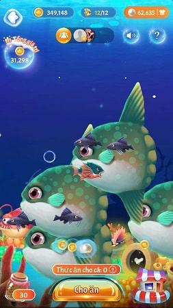 Game nuôi cá kiếm tiền với ClipClaps