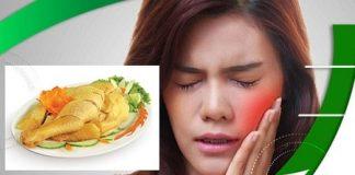 Bị đau răng có nên ăn thịt gà không ?