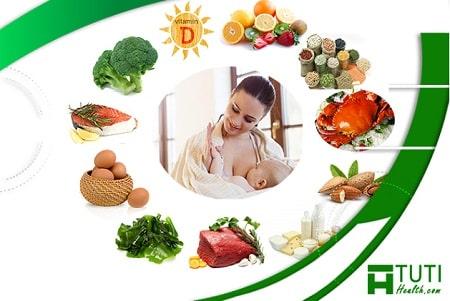 Chế độ dinh dưỡng sau sinh của các mẹ cần đặc biệt chú ý