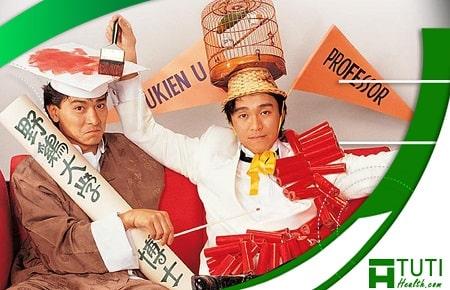Châu Tinh Trì và Khâu Thục Trinh kết hợp với nhau trong chuyên gia xảo quyệt (1991)