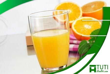 Những lợi ích của nước cam mang lại cho sức khỏe con người