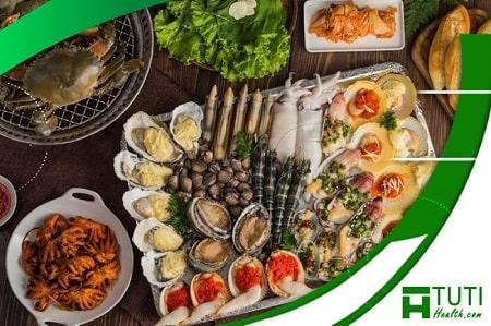 Ăn hải sản mang lại rất nhiều lợi ích sức khỏe