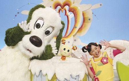 Trò chuyện cùng chú chó trắng là gameshow dành cho thiếu nhi được các bạn nhỏ ngày xưa mê tít